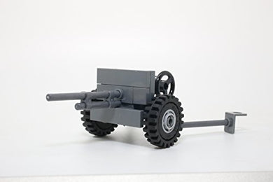 Ww2 American 37Mm M3 Anti-Tank Gun - Modern Brick Warfare Custom Kit