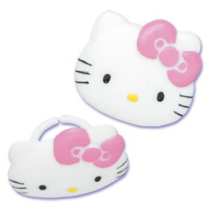 Hello Kitty Rings (8 Count)