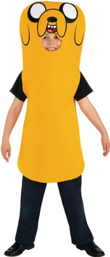 Adventure Time Child'S Jake Costume, Large