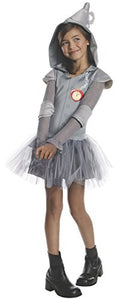 Rubies Wizard Of Oz Tin Man Hoodie Dress Costume, Child Medium