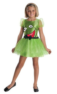 The Muppets Girl Kermit Child Costume Size Small (4-6)