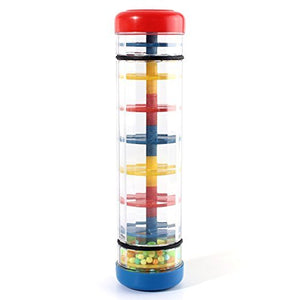 Sodial(R) Early Learning Centre Baby Music Rainmaker Instrument Toy Tube Shaker