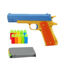 Load image into Gallery viewer, Pinovk Toy Gun - Brand New Realistic 1:1 Scale Colt 1911 Rubber Bullet Pistol