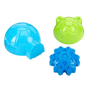 Ideal Sno Toys 3 Sno-Shapes Snow Toys