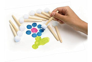 Colorations  Paint-A-Dot  Brushes - Set Of 12 (Item # 12Mbr)