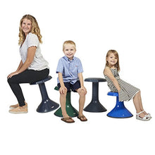 Load image into Gallery viewer, Ecr4Kids Ace Active Core Engagement Learning Stool, 18 Black