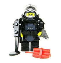 Load image into Gallery viewer, Bomb Squad Eod Disposal Specialist (Sku82)- Battle Brick Custom Minifigure
