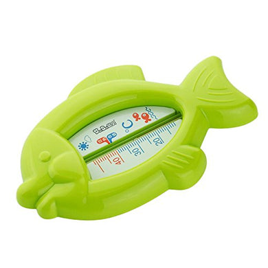 Vanker Cute Baby Infant Bath Tub Water Temperature Tester Toy Fish Shaped Thermometer(Green)