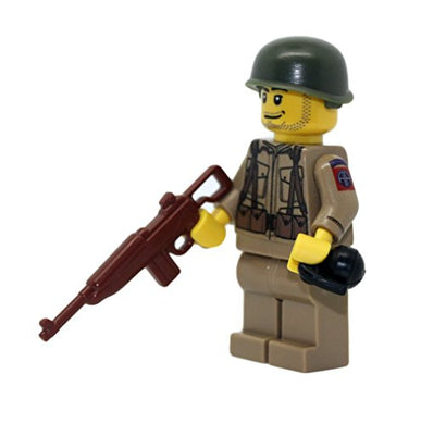 Us Army American Ww2 82Nd Airborne Ranger Soldier - Modern Brick Warfare Custom Minifigure