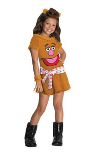 The Muppets Fozzie The Bear Girls Costume - Medium