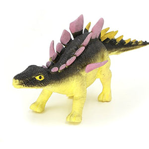 Dinosaur Toy,8 Food Grade Material Tpr Super Stretches Zoo World Rubber Dinosaur Dragon Toys(Kentrosaurus)