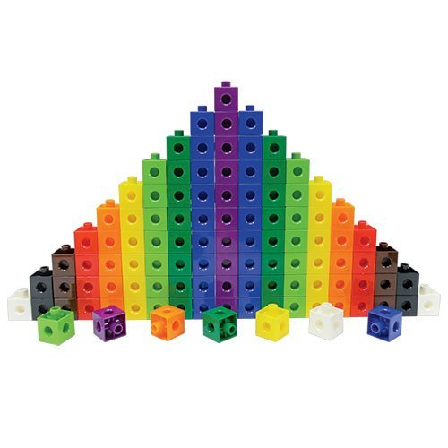 Eai Education Linking Cubes: 2Cm - Set Of 1000