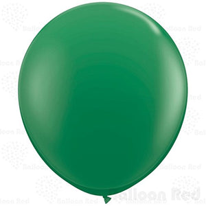 36 Inch Giant Jumbo Latex Balloons (Premium Helium Quality), Regular Shape - Green