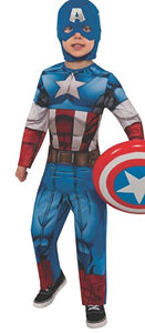 Marvel Universe Avengers Assemble Captain America Costume, Large