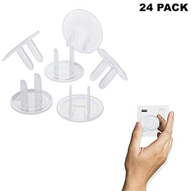 Ultra Clear Baby Electrical Safety Outlet Proof Plug Covers Plug Clear Child Proof Protector Safety Caps-