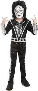 Kiss Band - Spaceman Child Costume Size 8-10 Medium