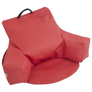 Ecr4Kids Relax-N-Read Bean Bag Chair, Red