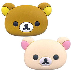 San-X Rilakkuma Car Accessory Usb Cover Set Of 2