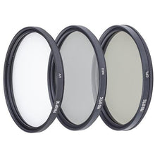 Load image into Gallery viewer, Prooptic 82Mm Digital Essentials Filter Kit, With Ultra Violet (Uv), Circular Polarizer And Neutral Density 2 (Nd2) Filters, With Pouch