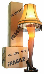 45  Full Size Leg Lamp From A Christmas Story