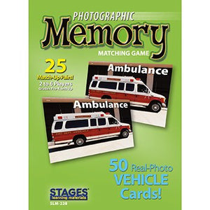 Photographic Memory Game - Vehicles