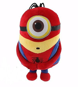 Avengers Despicable Me Minion 8  Tall Plush Toy  Spiderman  Action Figure Toys Super Hero **Ships From Us*