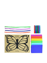 Load image into Gallery viewer, Seedling Design Your Own Butterfly Sun Catcher Kit