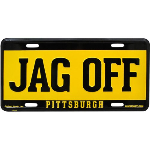 Jag Off License Plate Pittsburgh