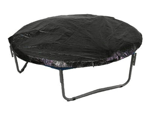 Upper Bounce 12' Black Color Trampoline Protection Weather And Rain Cover Fits 12Ft Round Trampoline Frames