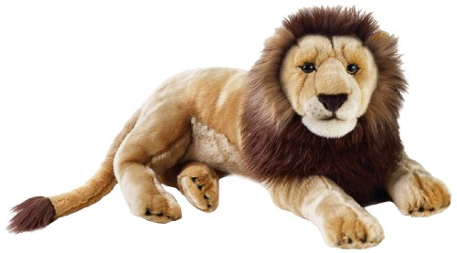 National Geographic Stuffed Animals Hand Puppet (1 Piece), Large, Lion