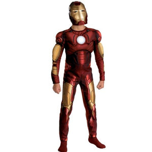 Disguise Inc Boys Iron Man 2008 Movie Muscle Chest Child Costume Red 10-12