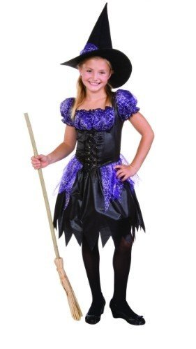 Rg Costumes Sparkle Witch, Child Medium/Size 8-10