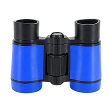 Load image into Gallery viewer, Multifit Kids Binocular Scope Toy Outdoor Adjustable 4X30 Rubber Viewing Zoom Binocular(Blue)