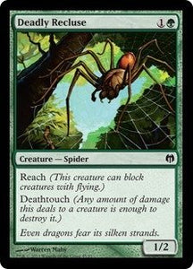 Magic: The Gathering - Deadly Recluse - Duel Decks: Heroes Vs Monsters