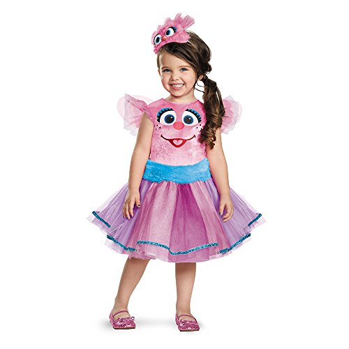 Disguise 86526S Abby Tutu Deluxe Costume, Small (2T)