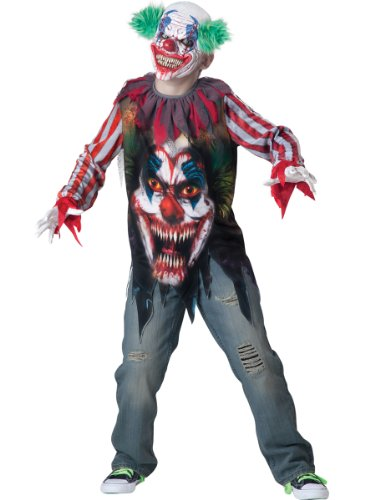 Incharacter Costumes Big Top Terror Costume, Size 8/Medium