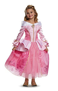 Disguise Aurora Prestige Disney Princess Sleeping Beauty Costume, One Color, X-Small/3T-4T