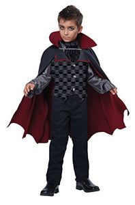 California Costumes Count Bloodfiend/Child Costume, One Color, Large