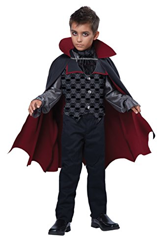 California Costumes Count Bloodfiend/Child Costume, One Color, X-Large