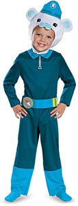 Disguise Captain Barnacles Classic Octonauts Silvergate Media Costume, Small/2T