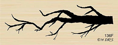 Spooky Tree Limb Rubber Stamp By Drs Designs