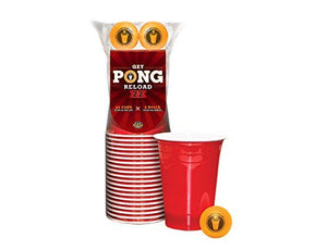 Get Pong Red Reload 20 Cups & 2 Balls
