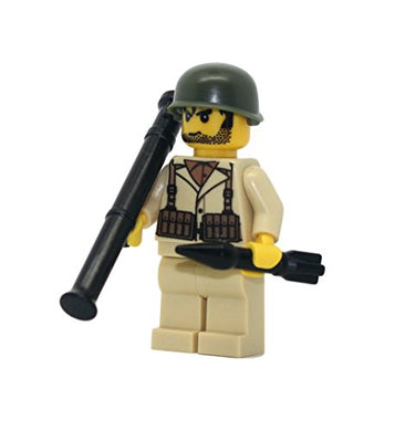 Us Army American Ww2 Anti-Tank Soldier - Modern Brick Warfare Custom Minifigure