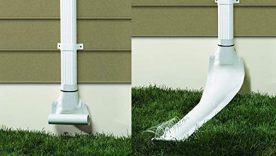 Frost King Automatic Drain Downspout 46   White