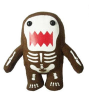 Load image into Gallery viewer, Licensed 2 Play Domo Skeleton 9 Plush Novelty Doll Glow In The Dark