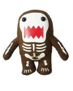 Licensed 2 Play Domo Skeleton 9 Plush Novelty Doll Glow In The Dark