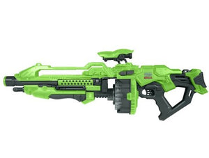 World Tech Toys Fun, Durable, High Qulaity Warriors Prime Glow In The Dark Motorized Dart Blaster