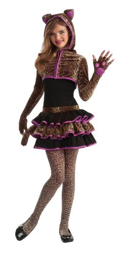 Rubie'S Drama Queens Tween Leopard Costume - Tween Medium (2- 4)