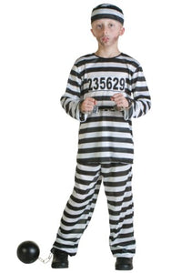 Fun Costumes Prisoner Costume Large