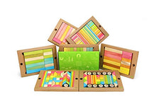 Load image into Gallery viewer, 240 Piece Tegu Classroom Magnetic Wooden Block Set, Tints